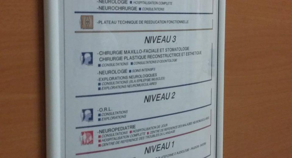 chu montpellier signaletique herault